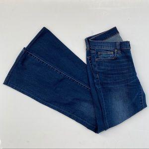 J. Crew Bootcut Jeans Darker Wash